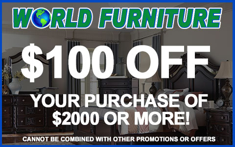 World Furniture  Coupon Griffith IN